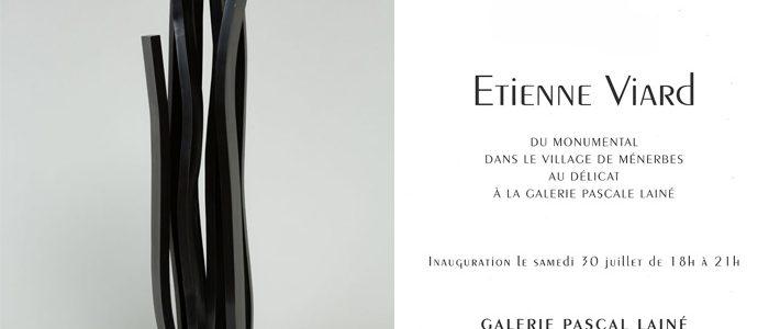 Du 30 juillet au 10 septembre 2016 : exposition personnelle – Galerie Pascal Lainé