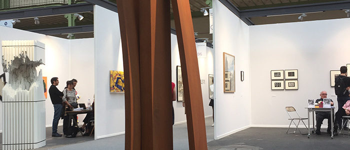 Etienne Viard at Art Fair Art Paris 2018